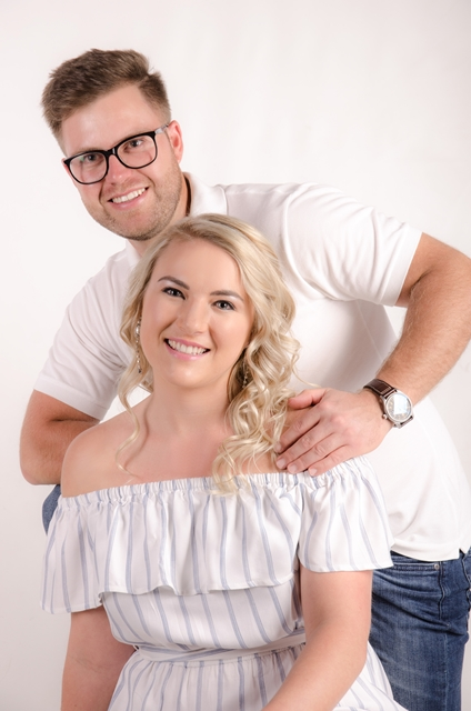 Engagement Photo Session - In Studio