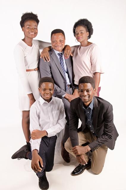 Family Portraiture in Studio